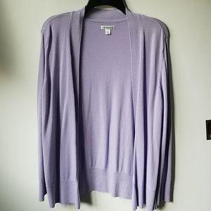 Beautiful Purple Cardigan Sweater